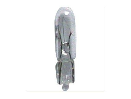 Žárovka 12V/1.2W celosklo - balení 10 ks