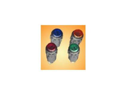Kontrolka zelená prů.13mm