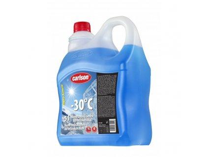 Nemrznoucí směs do ostřikovačů CARLSON  -30°C  5L smart nálevka, 33.244