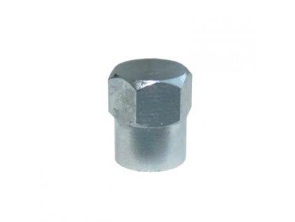 Čepička ventilků kovová, šestihran, BLVC13
