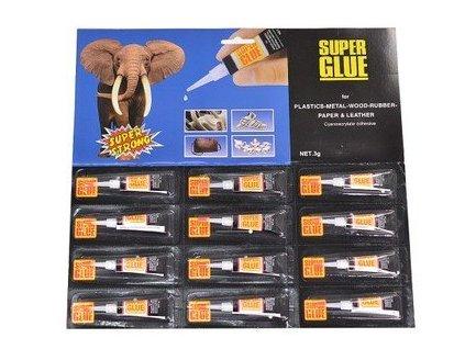 Vteřinové lepidlo 3g, super glue