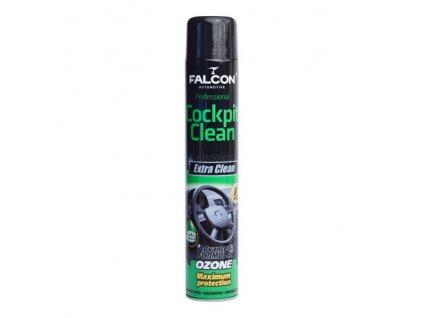 FALCON cockpit sprej 750ml - BLACK (černý), F1067