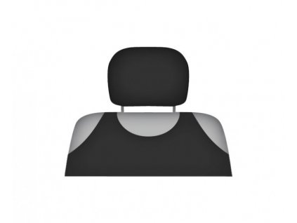 Potah opěrky hlavy černý, 5-3002-253-4010