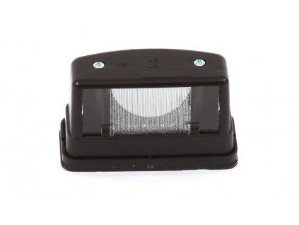 Osvětlení SPZ černé, žárovka, W08
