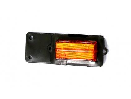Obrysové světlo oranžové boční 12V-24V  PO2