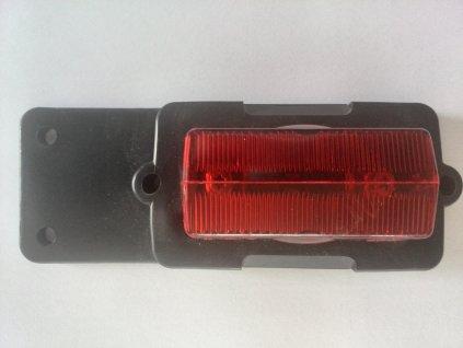 Obrysové světlo červené zadní 12V-24V  PO2