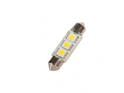 Žárovka 3 SMD sufit, bílá CAN-BUS, 2ks, 11x41mm