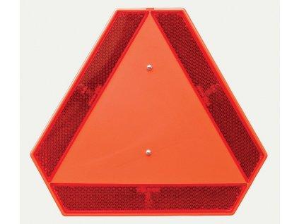 Reflexní trojúhelník TW11 pro pomalá vozidla plastový bez držáku