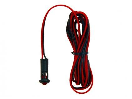 Simulátor alarmu s červenou LED, 01557
