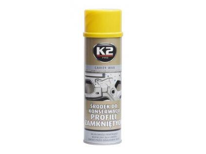 K2 CAVITY WAX 500 ml - prostředek na bázi vosku pro ochranu dutin, L330