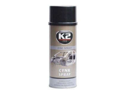 K2 ZINC SPRAY 400 ml - zinkový sprej (antikorozní údržba) , L350
