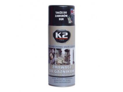 K2 ČISTIČ VENTILŮ, KARBURÁTORŮ A VSTŘIKOVAČŮ 400 ml, W128