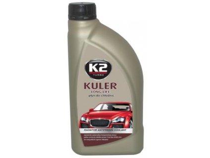K2 KULER G12/G12+ ČERVENÁ  1 L- nemrznoucí kapalina do chladiče do -35 °C, T201C