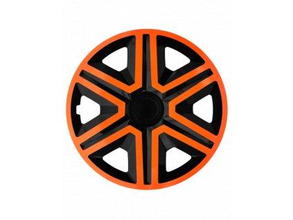 "Kryty kol - poklice  ACTION doublecolor orange - black 16""  Kryty kol - poklice"