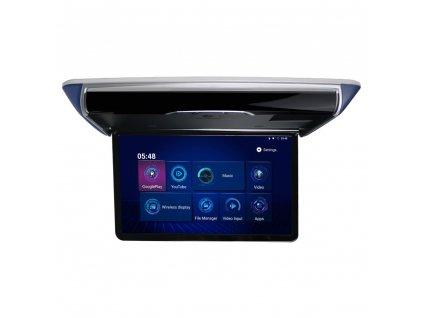 """Stropní LCD motorický monitor 15,6""""  s OS. Android HDMI / USB, dálkové ovládání se snímačem pohybu"""
