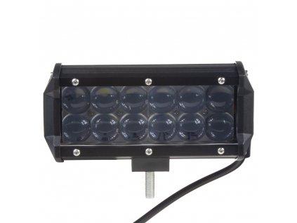 LED světlo obdélníkové, 12x3W, 162x73x79mm