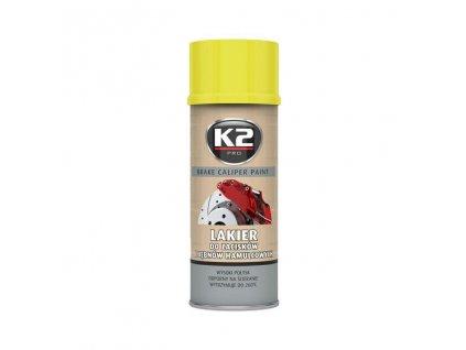 K2 BRAKE CALIPER PAINT 400 ml MODRÁ - barva na brzdové třmeny a bubny, L346NI