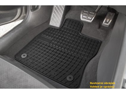 Autokoberce gumové FROGUM Dacia/Stepway od 2018