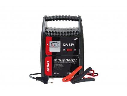 Nabíječka auto/moto baterií Amio 12A, 12V, 02089