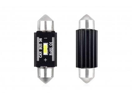 Žárovka LED 12/24V sufit C5W 36mm bílá, 02442