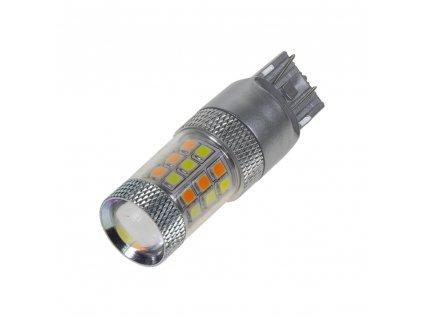 LED T20 (7443) dual color, 12V, 42LED/2835SMD