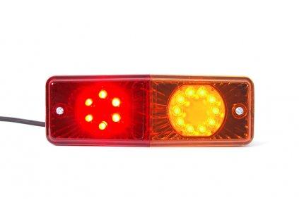 Sdružené zadní poziční světlo, 12V (24V), LED, W072ud