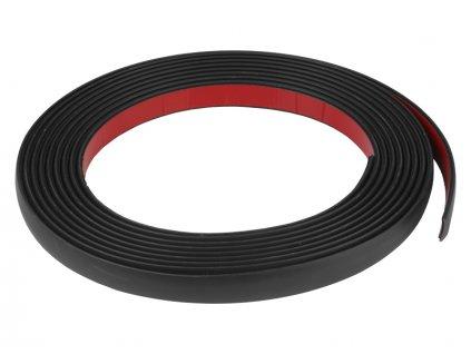 Samolepící lišta černá 17mm x 5m, 86174