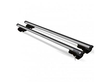 Příčníky na klasické podélníky / hagusy Menabo Dozer XXL 150cm - aluminium / uzamykatelné