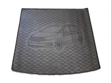 Vana do kufru gumová RIGUM Volkswagen Touran horní 2015-
