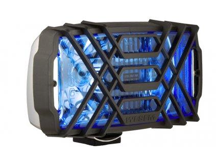 Světlo hranaté dálkové modré chrom, 40486.C