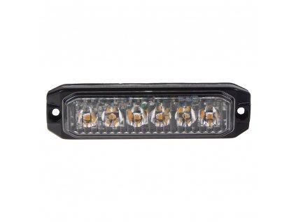 PROFI SLIM výstražné LED světlo vnější, oranžové, 12-24V, ECE R65
