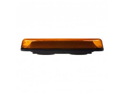 LED rampa oranžová, 84LEDx0,5W, magnet, 12-24V, 304mm, ECE R65 R10