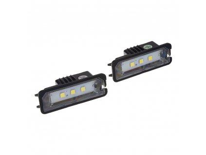 LED osvětlení SPZ do vozu Seat, Škoda, VW