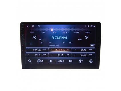 "Autorádio s 10,1"" LCD, Android 10.0, WI-FI, GPS, apple carplay / android auto, Bluetooth, 2x USB"