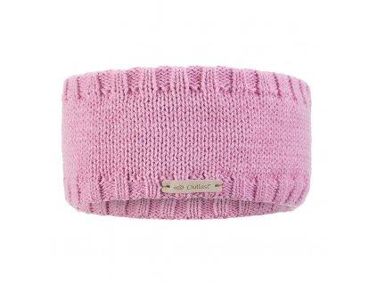 Čelenka pletená hladká Outlast ® - levandulová (Velikost 5 | 49-53 cm)