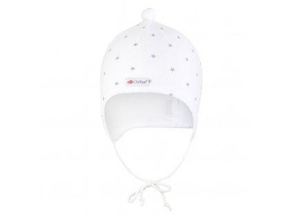 Čepice NICKI Outlast® - bílá (Velikost 0 | 33-35 cm)