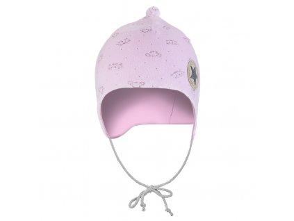 Čepice NICKI Outlast® - růžová-zvířátka (Velikost 0 | 33-35 cm)