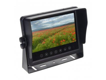"""AHD Monitor 7"""" prachotěsný/voděodolný/nárazu odolný, 3x4PIN vstup"""