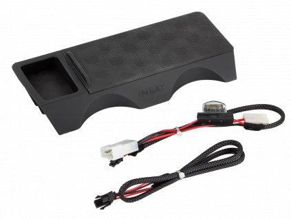 Qi indukční INBAY nabíječka telefonů BMW X3 2010-2014, 10W