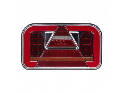 Sdružená LED lampa pravá zadní s dynamickými blinkry 12/24V