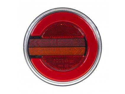 LED sdružená lampa zadní levá s dynamickými blinkry, 12-24V, ECE