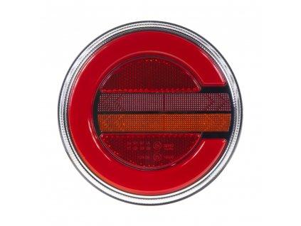 LED sdružená lampa zadní pravá s dynamickými blinkry, 12-24V, ECE