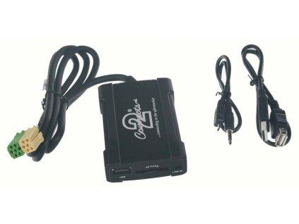 Connects2 - ovládání USB zařízení OEM rádiem Toyota, Citroën, Peugeot/AUX vstup