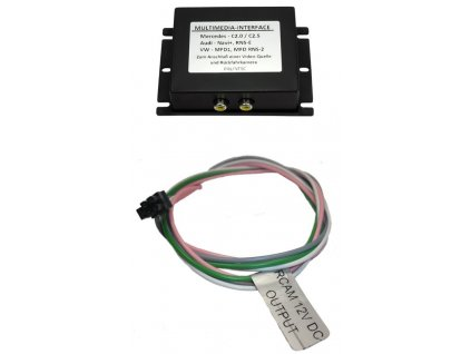 adaptér A/V vstup pro OEM navigaci Škoda, VW RNS-510 (MFD3) bez OEM TV tuneru