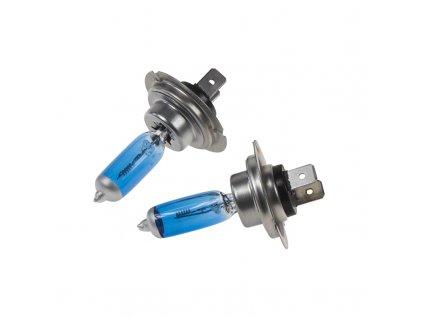 Halogen. žárovka 24V s paticí H7, Blue white 4300K, 100W