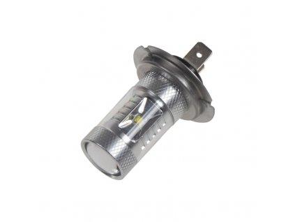CREE LED H7 bílá, 12-24V, 30W (6x5W)
