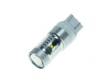 CREE LED T20 (7443) bílá, 12-24V, 30W (6x5W)