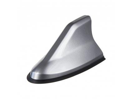 SHARK krytka antény - náhrada prutu, barva stříbrná
