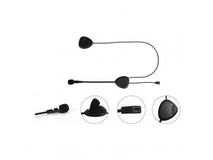 Bluetooth HF sada do helmy univerzální