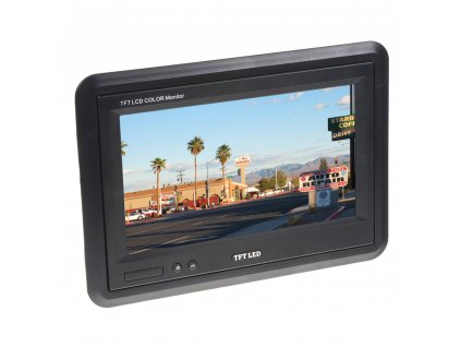 """LCD monitor 7"""", 2 x video vstup"""